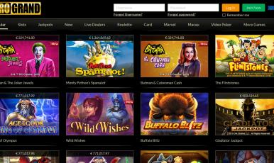 grand online casino spiele koste