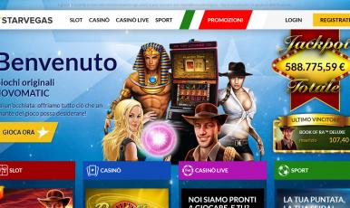 Starvegas casino on line bonus senza deposito