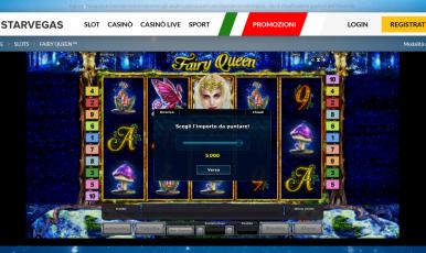 Star Vegas Casinò codice bonus