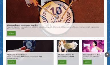 Recensione completa del casinò di Eurobet in Italia