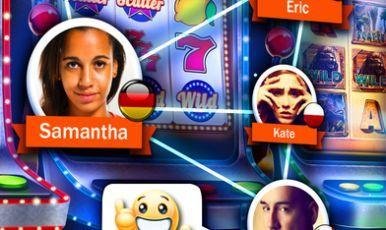 Four pics one word curtain slot machine
