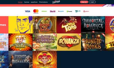 CasinoPOP Bonus