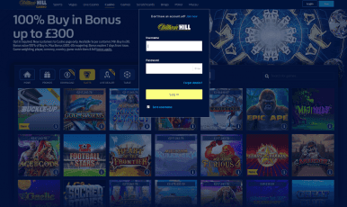 William Hill Login Casino