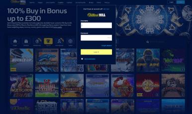 William Hill Online Casino Login