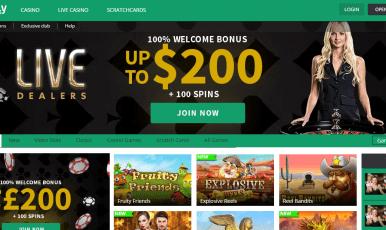 Toptally casino bonuses