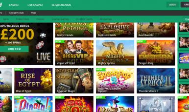 Toptally casino online