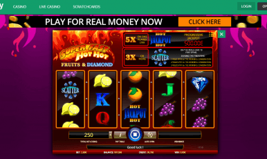 Toptally casino Free Spins Bonus Code