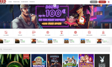 Red Ping Win Casino Bonus