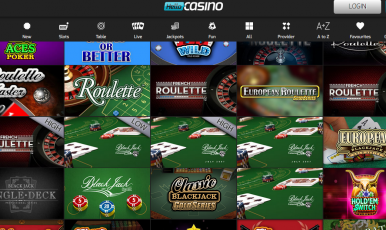Hello! Casino Games Section