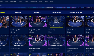 William Hill Casino Live Casino