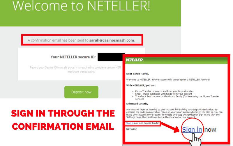 Online Casinos that Accept Neteller: Step 4