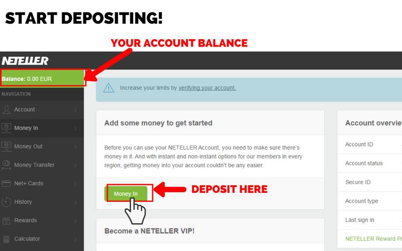 Online Casinos that Accept Neteller: Step 5
