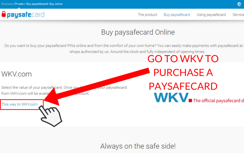 How to Set Up a Paysafecard Account: Step 3