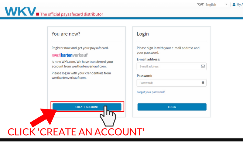 How to Set Up a Paysafecard Account: Step 5