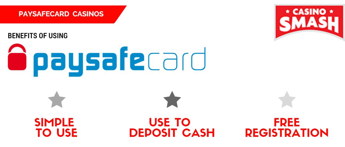 Online Casinos That Accept Paysafecard