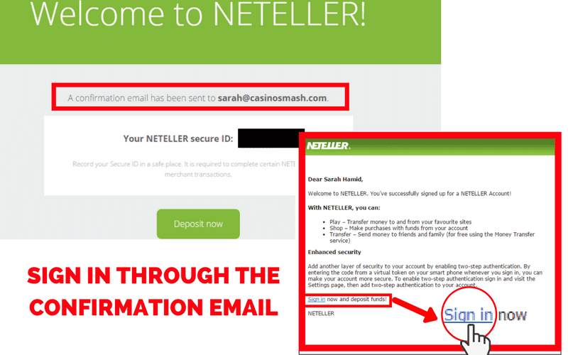 Online Casinos that Accept Neteller: Step 4