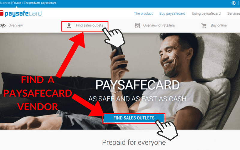 How to Set Up a Paysafecard Account: Step 2
