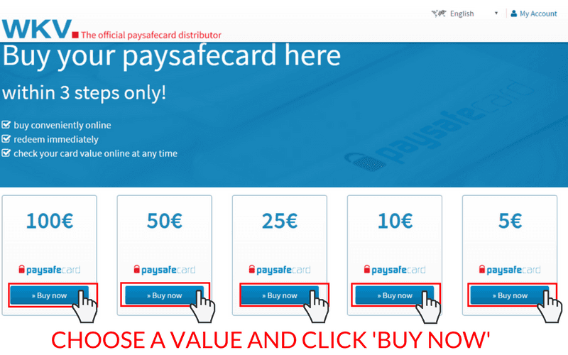 How to Set Up a Paysafecard Account: Step 4