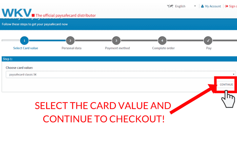 How to Set Up a Paysafecard Account: Step 9