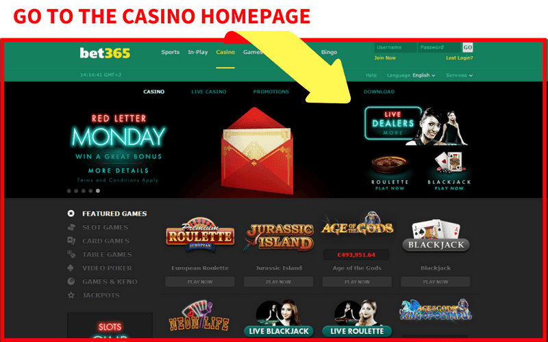 Online Casinos that Accept eCheck Step 1