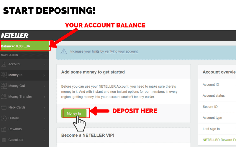 Online Casinos that Accept Neteller: Step 5