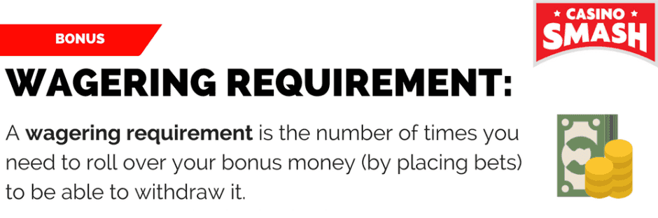 Meet the Bonus' Wagering Requirement