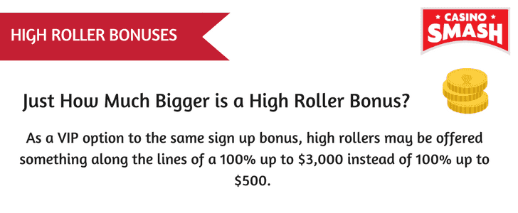 Just How Much Bigger is a High Roller Bonus?
