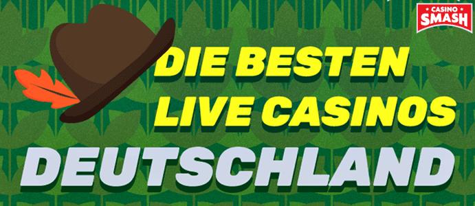 Die besten Live Casinos Deutschland, um Echtgeld Spiele zu spielen