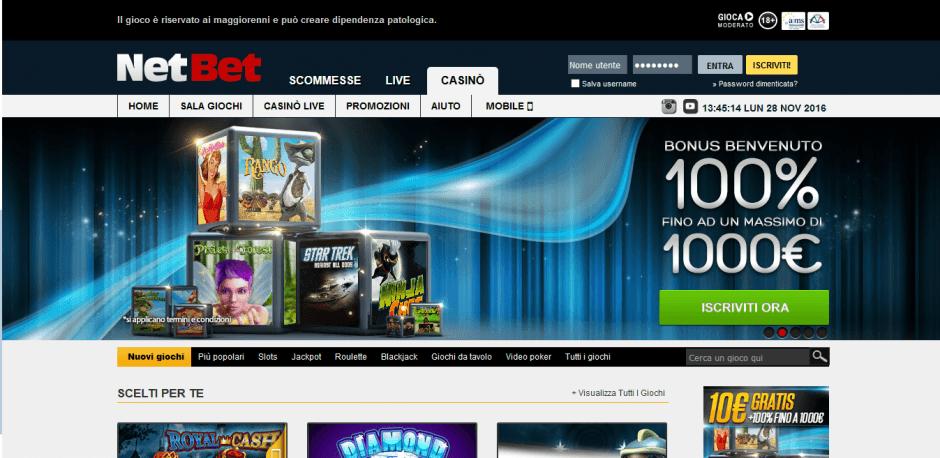 NetBet Casino Aams