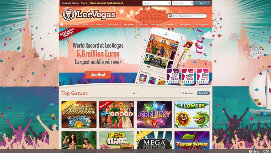 Leo Vegas Casino Nuovo in Italia