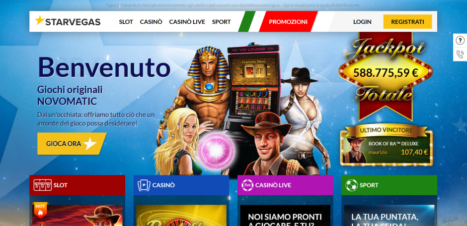 StarVegas Casino Nuovi Giochi